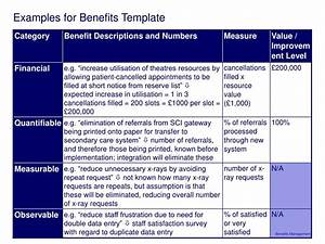 ppt session 3 benefits definition and measurement With benefits realization plan template