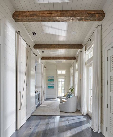 Shiplap Ceiling Pictures by Geoff Associates Hallways House Decor