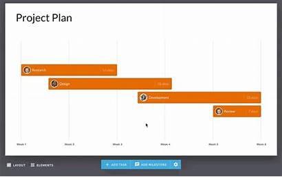 Gantt Chart Template Ai Slide Intuitive Controls