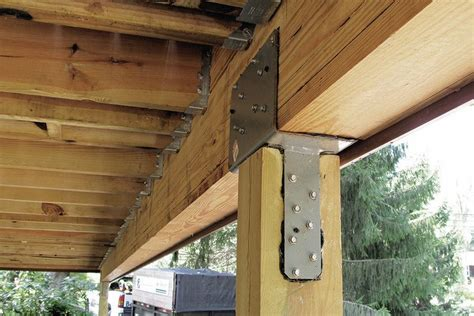 stronger post  beam connections professional deck builder