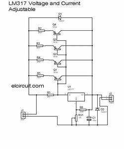10a Lm317 Adjustable Power Supply And Current Booster
