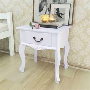 Nachttisch Weiß Günstig : vidaxl nachttisch wei mdf g nstig kaufen ~ Michelbontemps.com Haus und Dekorationen