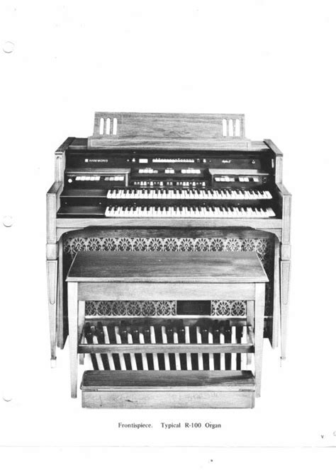 Hammond Organ Service Repair Manuals, Fix up your old
