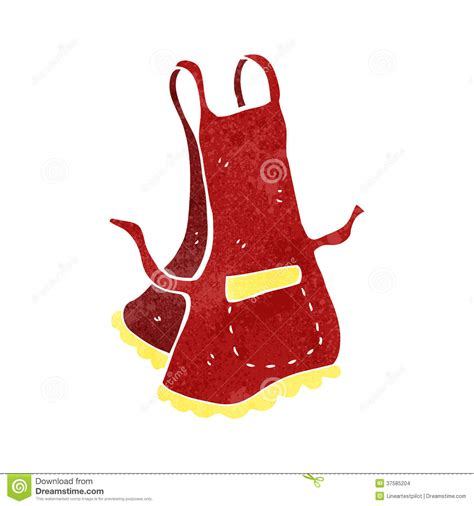 rolling island for kitchen retro apron stock images image 37585204