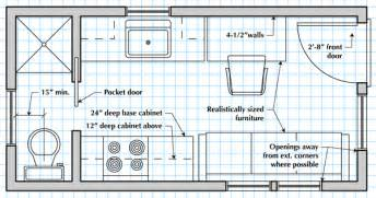 draw house plans how to draw a tiny house floor plan