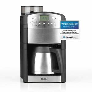Kaffeemaschine Timer Thermoskanne : beem kaffeemaschine thermoskanne mahlwerk timer 10 tassen ~ Watch28wear.com Haus und Dekorationen