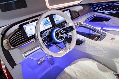 In this video, we will be having a walk. 2021 Mercedes-Maybach SUV Interior Photos | CarBuzz