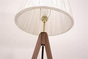 Stehlampe Holz Dreibein : dreibein lampe holz tripod strandholzshop vintage interior design ~ Orissabook.com Haus und Dekorationen