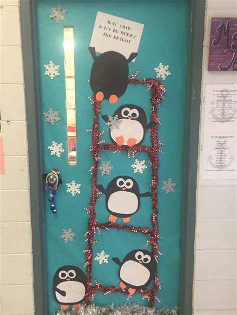 beautiful classroom christmas door decoration ideas