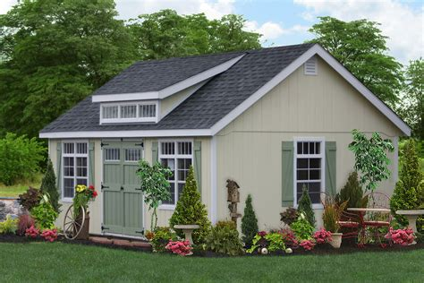 Garage Storage Shed by Buy Beautiful Pre Built Garages With A Premier Design