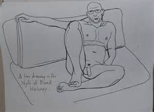 Famous Artists Line Drawings
