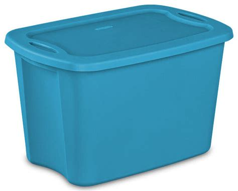 Sterilite Heavy-duty Plastic Latching 10 Gallon Storage