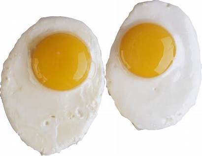 Eggs Fried Egg Cooked Raw Transparent Yolk