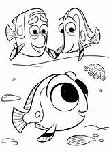 Dory Finding Fun Coloring Pages sketch template