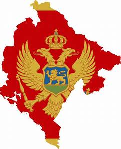 File Flag Map Of Montenegro Svg