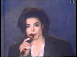 Michael Jackson at the World Music Awards 1996 - YouTube