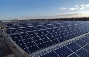 UK39s Largest Rooftop PV Installation At Bentley
