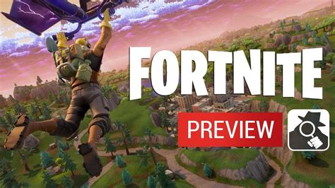 fortnite iphone ipad android beta preview gameplay