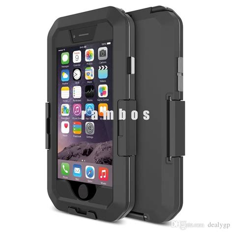 universal smartphone protective dust proof snow proof waterproof cell phone pouch bag