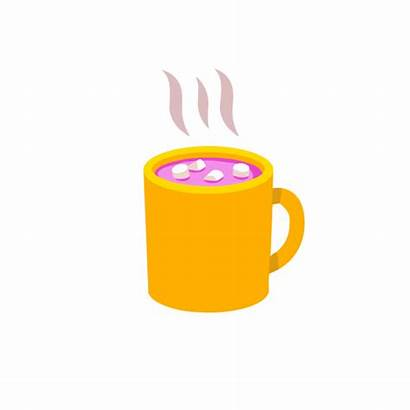 Clipart Chocolate Cup Gifs Animation Whip Transparent