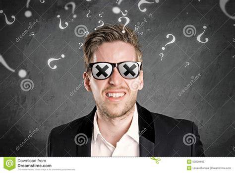 Blind Man Stock Photo