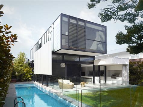 Stunning House Blurs The Interior-Exterior Divide : Diseño Casa Dos Plantas Moderna [planos]