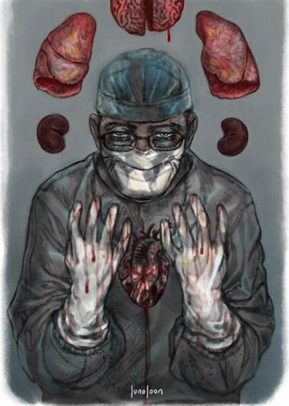 Surgeon Surgery Creepy Goretober Hospitals