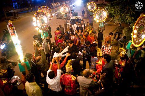 baraat  celebration   grooms family  friends