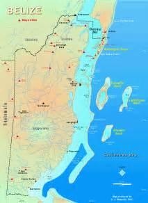 Great Blue Hole Belize Map