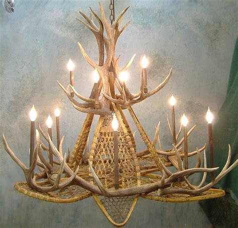 make your own antler chandelier chandelier