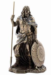 Baldur Balder Baldr Norse Viking Mythology God Bronze ...