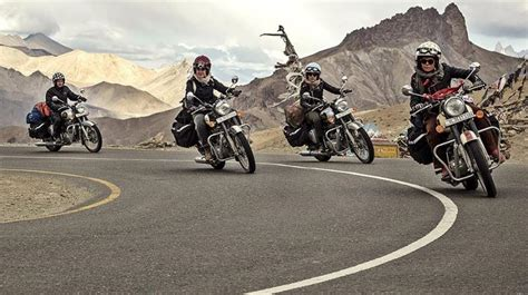 Royal Enfield Himalayan Backgrounds by All Motorbiking Team On Himalayan Odyssey
