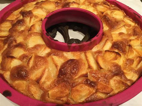 ma cuisine thermomix gâteau aux pommes thermomix dans ma cuisine avec mon