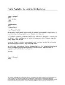of service recognition letter samples employee appreciation letter