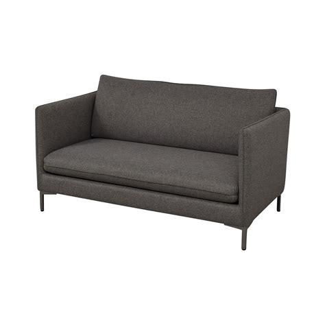 Cb2 Apartment Sofa by 50 Cb2 Cb2 Flatiron Grey Apartment Sofa Sofas