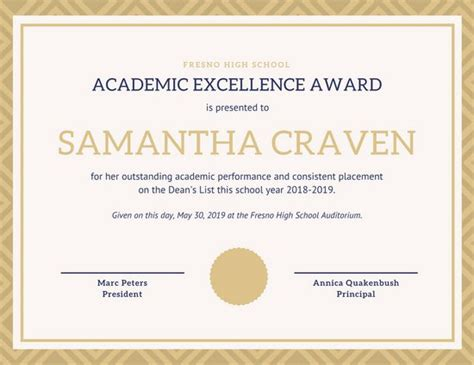 All About Resume Excellence by Best Excellence Award Certificate Template Pictures