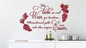 Tattoos Für Die Wand : k chen wandtattoos wandsticker deko von ~ Orissabook.com Haus und Dekorationen