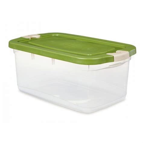 Rubbermaid Patio Storage Bins by Geekshive Rubbermaid Roughneck 50 Qt Clear Box Lidded
