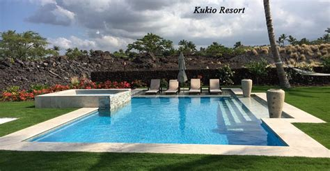 Kona Kai Pools, Big Island Hawaii Swimming Pool Construction