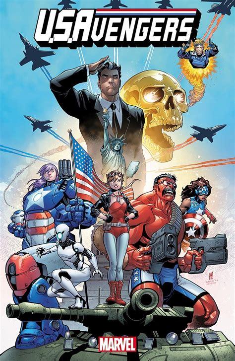 Marvel Comics Debuts U.S.Avengers This December