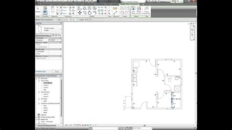 revit tutorial electrical plan part youtube