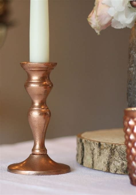 15 Stunning Copper Wedding Decorations For You To Steal