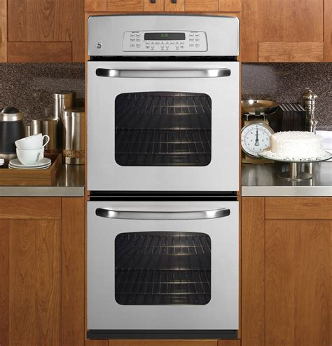 general electric jkpspss  double electric wall oven   cu ft  clean ovens