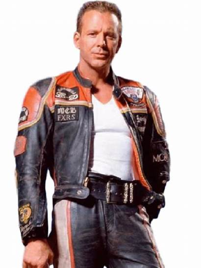 Harley Davidson Marlboro Jacket Leather Mickey Rourke