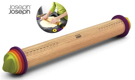 Joseph Joseph   Adjustable Rolling Pin   Cookfunky