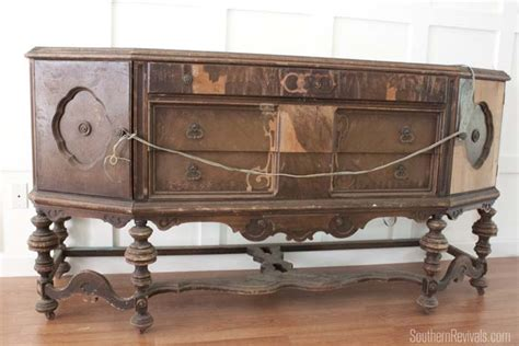 Antique Sideboard Buffet Furniture by What Do I Do With You An Antique Sideboard Buffet By