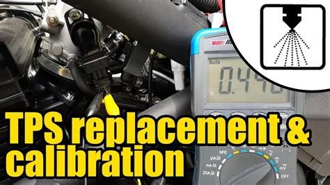 install calibrate   throttle position sensor