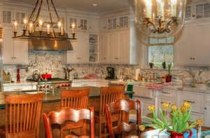 Houzz Living Rooms Traditional by White English Country Kitchen Traditional Kitchen