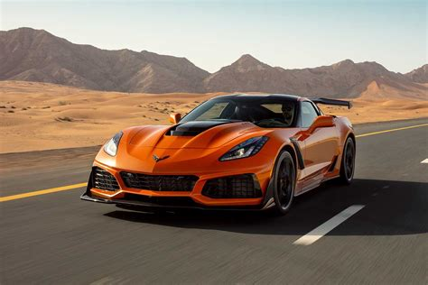 chevrolet corvette zr performance review