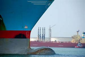 Arrival of container giant: first 20,000